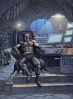 The Batcave by barneybluepants