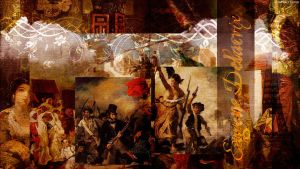 Delacroix Collage by StarwaltDesign