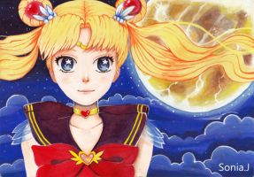 Sailor Moon by sonia-J