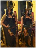 Lady Loki Test #2 by yirico