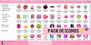 Pack De Iconos by Girlspng