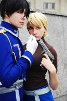 Riza and Roy 1 by Haruhi-tyan