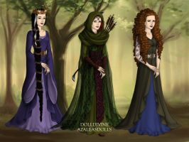 Three Queens by disneyfanart1998