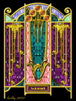 Art Deco Sokagirl Screen by barbieq25