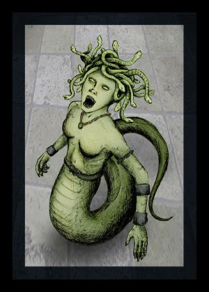 Medusa of the Gorgons