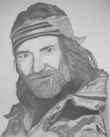 Willie Nelson by donna-j