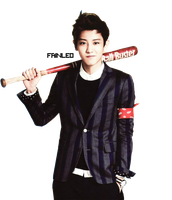 Chanyeol PNG Render #2 by fainleo