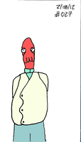 Zoidberg Challenge Day 27 by SickSean