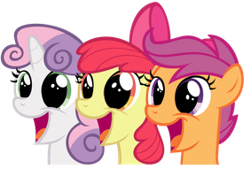 Inkscape - Cutie Mark Crusaders by TheStorm117