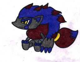 SHINY ZOROARK POKEDOLL-UP FOR COMMISSIONS by chocovanillaberry