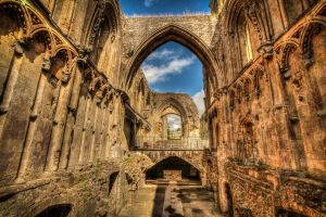 Glastonbury Abbey 3 by Vitaloverdose