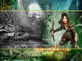 Guild Wars Ranger Wallpaper by behemoth5876