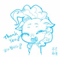 Doodle : Thank You! by mrs1989