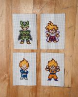 Dragonball Z cross stitch by flavialee