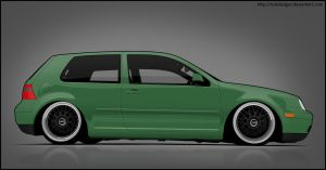 Volkswagen Golf mk4 by nokdesigns