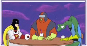 Space Ghost Coast to Coast Downtime by Volador-N7