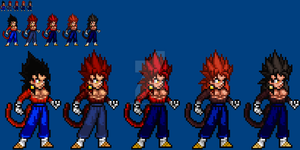 2012-2014: SSJ4 Vegetto look-back by SuperShadiw1010
