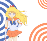 Sailor Venus - Wind Swept by PallasMercury