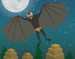Monsters of Myth and Legend - Camazotz by Juliefan21