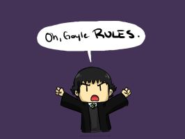 Oh, Goyle RULES by pettyartist