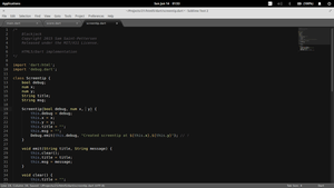 Working on a Dart project in Sublime Text 2 by samjip