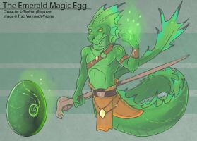 The Emerald Magic Egg by Ulario
