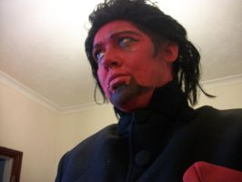 Azazel Make up test by LuciousLara