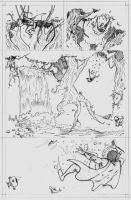 Space Ghost page 3 pencils by CrimeRoyale