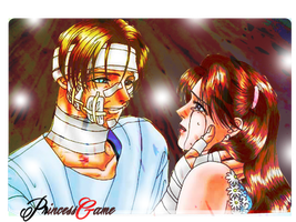 Claire and Leon by PrincessGame