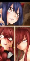 Fairy Tail 517_Erza_Eileen_Wendy : Framed by MimiSempai