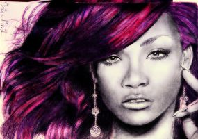 Rihanna by Irishaaa