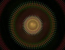 Concentric Spikiness by Silver-Dew-Drop