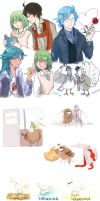 Hatoful Boyfriend Dump 2 by b-snippet