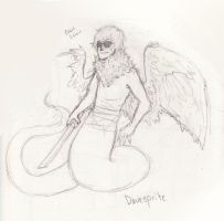 Davesprite -sketch- by deadpanAires