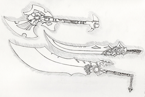 Sword Concepts 2 by Ironwulfen