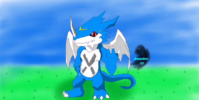 Exveemon by DragonBorn723