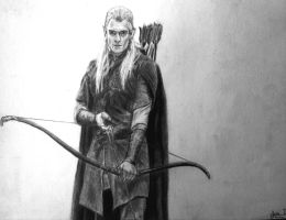 Legolas - LOTR by JohnnyDalvi