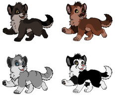 Husky Pup Adopts by SofielRuesDeLartiste