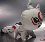 Okami Hand Crafted Plush by Avon-Delta