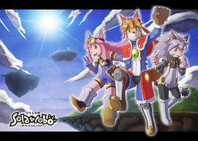 Solatorobo again! by DRVee