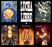 lucha libre by cidruy