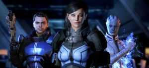 ME3 Team by meonlyred