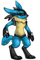 Lucario by Zoomutt
