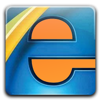 Faenza-like icon for Internet Explorer by Sixpaq