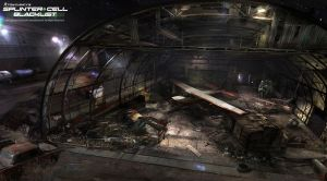 Splinter Cell Blacklist: Air Hangar by nachoyague