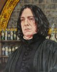 Snape by ObsidianSerpent