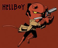 Hellboy for Raf by FantasyHeart