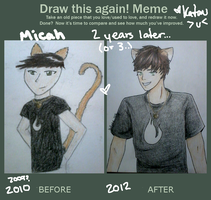 Micah- Draw this again! by Katau