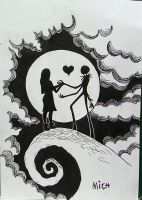 Jack and sally by mishellecintra