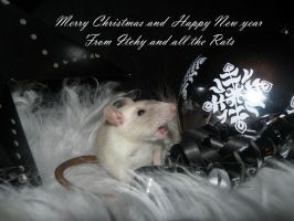 Merry Christmas by Itchys-rats